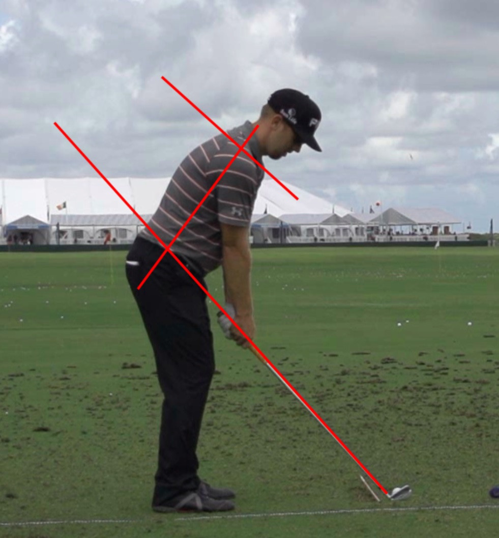 Hunter Mahan Golf Posture