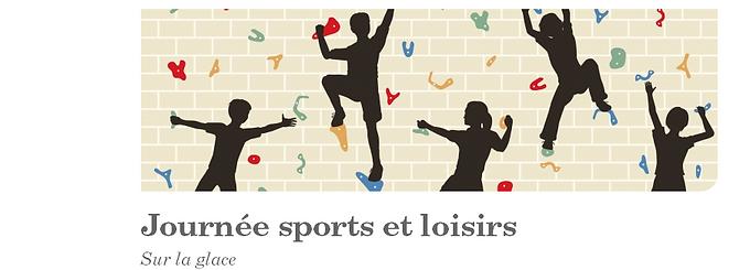 Journée sports et loisirs