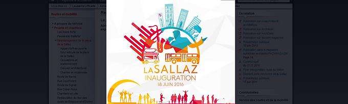 Place de la sallaz - Inauguration