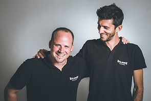 Emmanuel Vallélian et Fabio Pasquali