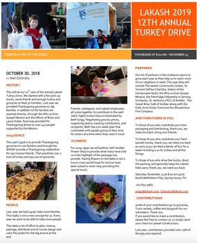 Lakash Turkey Drive Philadelphia Construction Company