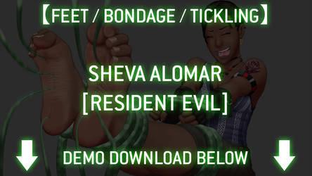 +Tickling+ Sheva Alomar +Game+