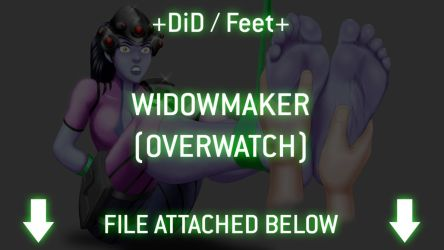 +DiD / Feet+ Widowmaker