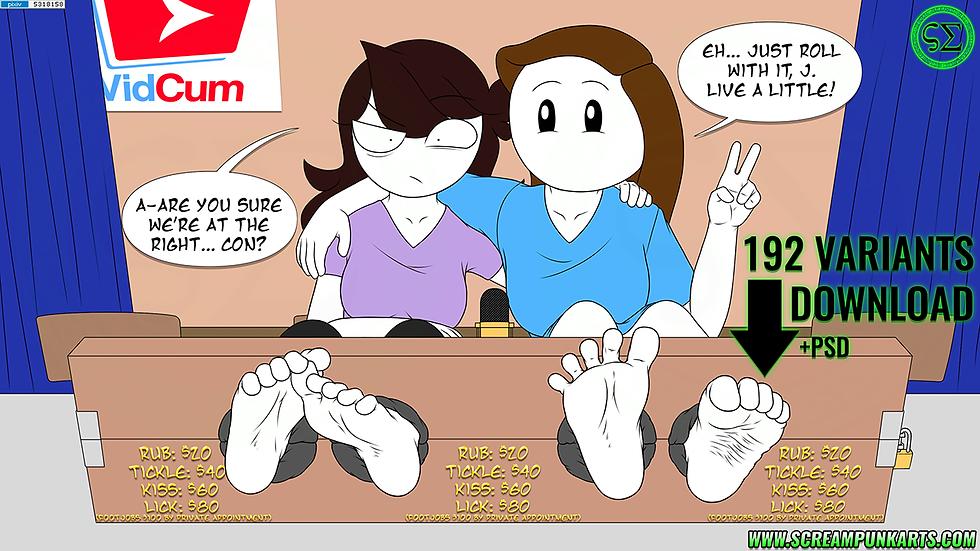 +Feet+ Jaiden & Rebecca +7+