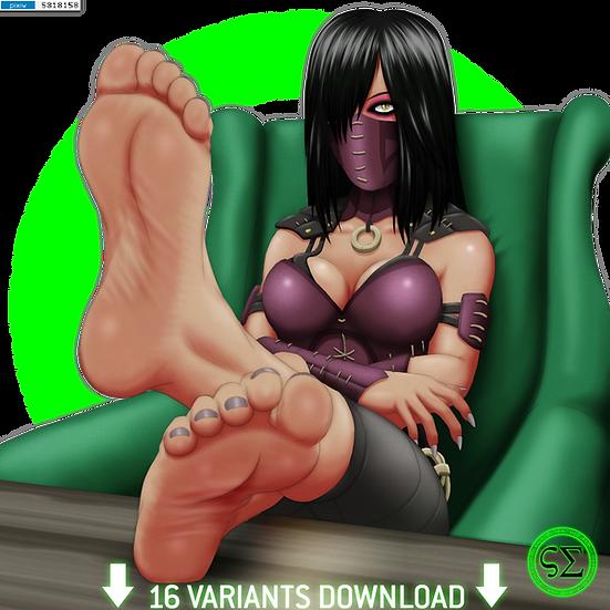 +Feet+ Mileena +1+