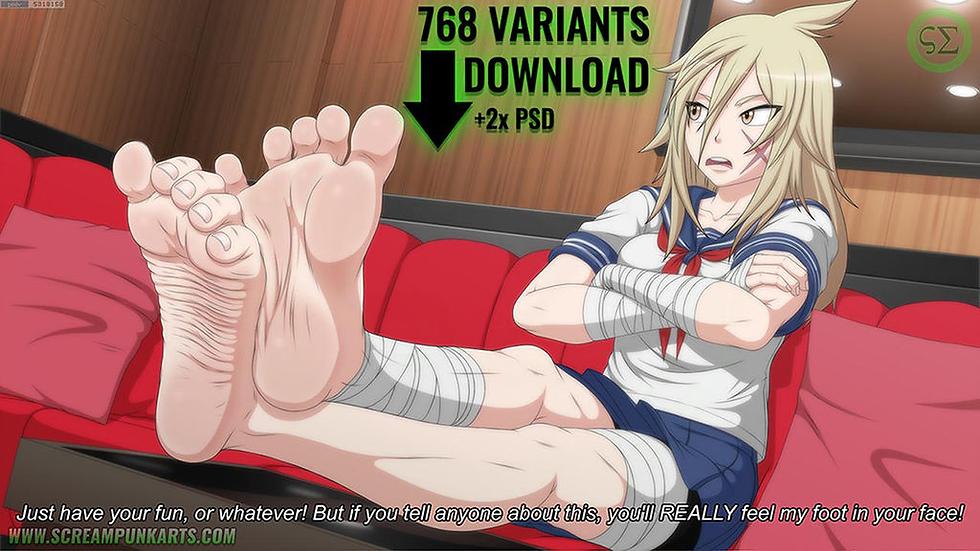 +Feet+ Osoro Shidesu
