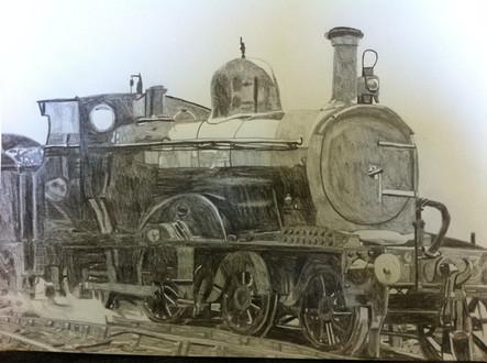 Furness railway tender engine