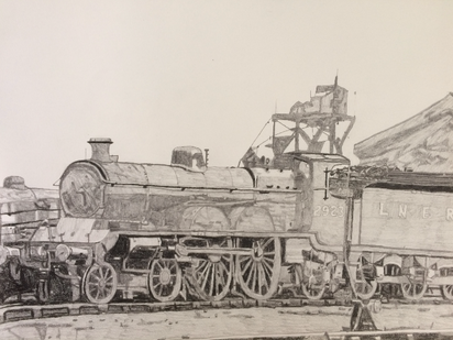 The Great Northern Railway Atlantic tender engine