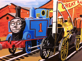 Thomas and the Great Railway show