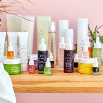 Tropic is a natural, vegan, cruelty free range of skincare and beauty products