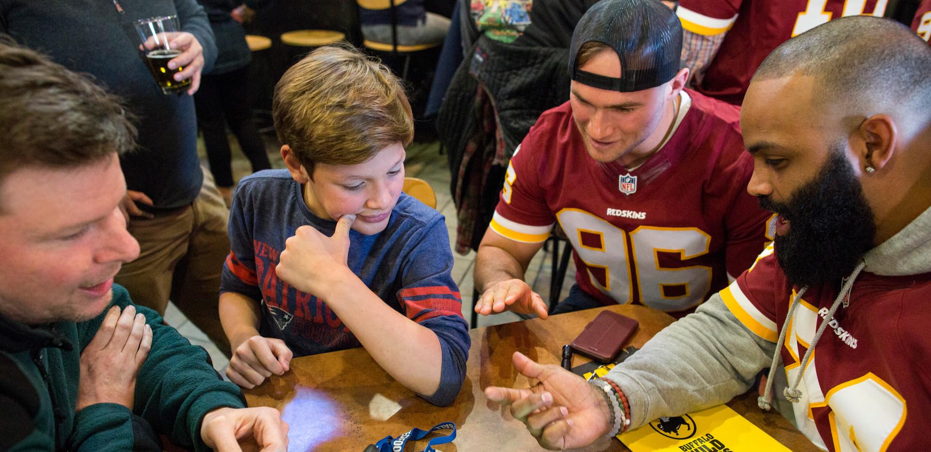 Buzztime & Redskins Launch Party
