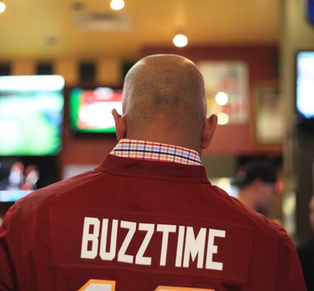 Buzztime Redskins Promo Launch