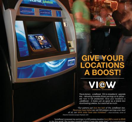 Ecast-powred Jukebox Upgrades Marketing