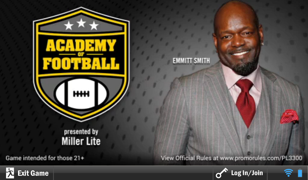 Miller Promo with Emmit Smith