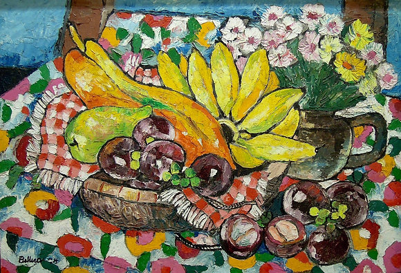 Mangos Teen NORMA BELLEZA, Filipino Still Life, Southeast Asian art, Art Forum, Art for homes and offices
