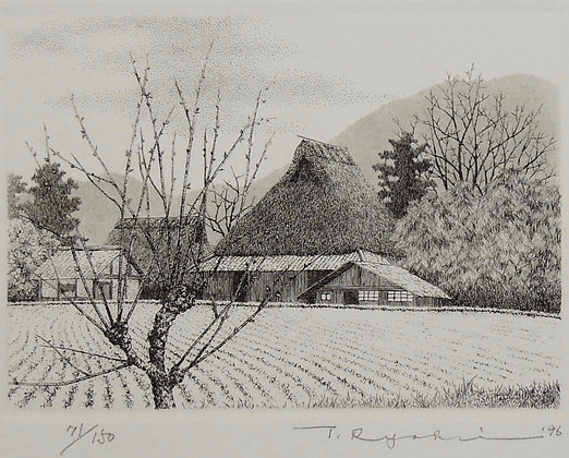 590 Close Spring by TANAKA RYOHEI, Japanese print, Japanese landscape art, Art Forum, Art for homes and offices
