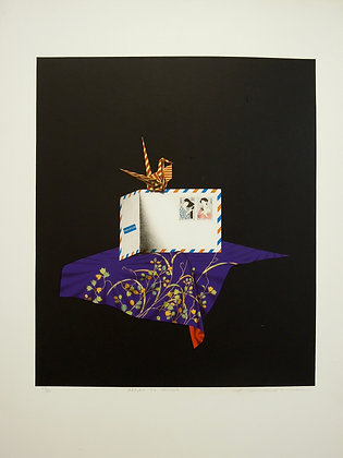 Return to Sender by WAKO SHUJI, Japanese print, Japanese abstract art, Art Forum, art for homes and offices