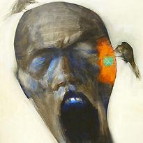 Do Hoang Tuong, Head III, 2007, oil on c