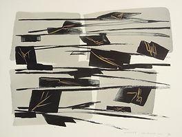 Toko Shinoda, World Fire, 2000, lithogra