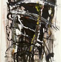 Mark Elliot-Ranken, Fiction, 1997, acryl