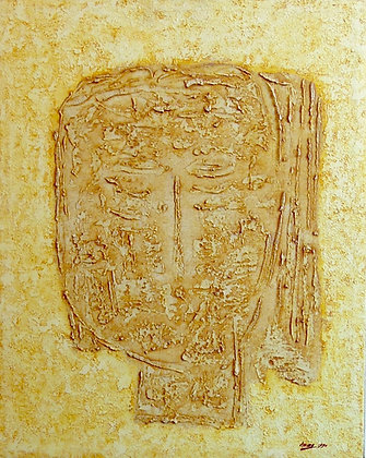 Yellow Mask by AMING PRAYITNO, Indonesian art, Southeast Asian art, Art Forum, Art for homes and offices