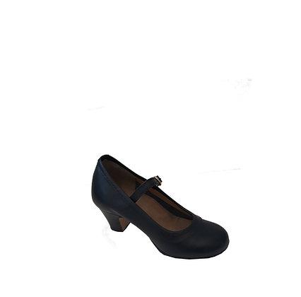 Chaussure danse flamenco - coloris noir