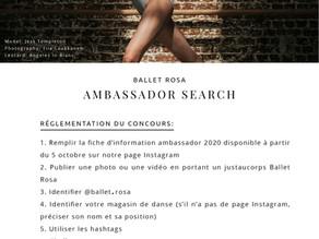 Ambassadeurs BALLET ROSA