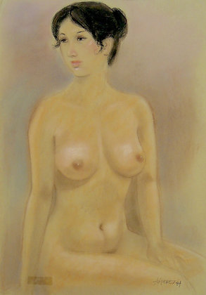 Nude by AL PEREZ, Filipino Figurative art, nude, Southeast Asian art, Art Forum, Art for homes and offices