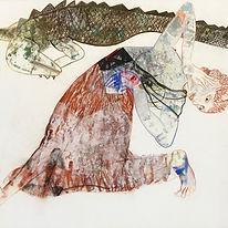 Atanu Mukherjee, Woman and Crocodile, 20