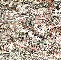 Den Warnjing, Thai Rural Life I, 1995, m