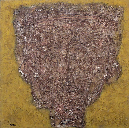 Brown Mask by AMING PRAYITNO, Indonesian art, Art Forum, Southeast Asian art, Art for homes and offices