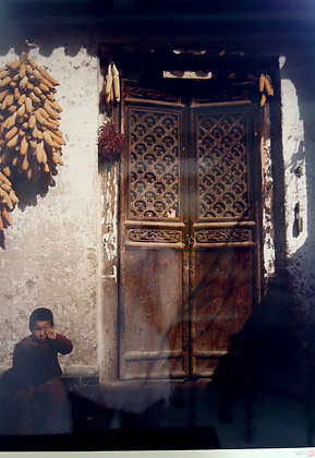 A Boy, Fengxiang County, Shanxi Province, China by SHA YING, Chinese photography, Art Forum, Art for homes and offices