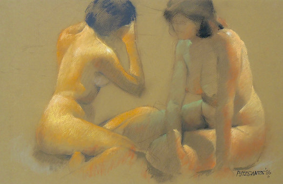 Nude by PYTZ SANTOS, Filipino Figurative Art, nude, Southeast Asian art, Art Forum, Art for homes and offices