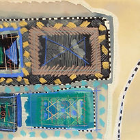 Gill Hewitt, Tuareg, 1984, watercolour o