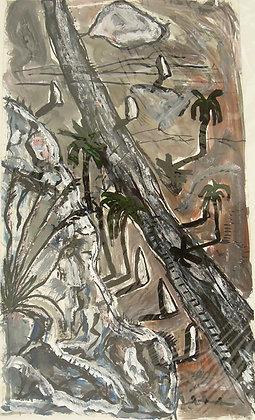 The Burnt Road by FRANK ELLIOT-RANKEN, Australian Abstract Art, Art Forum