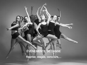 Nouveau: pages dédiées aux professeurs et aux écoles de danse