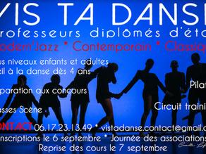 Cours de danse Vis ta Danse à Frontignan
