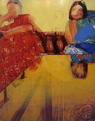 Bare on the Glass by UDAY MONDAL, Indian art, Art Forum, Art for homes and offices