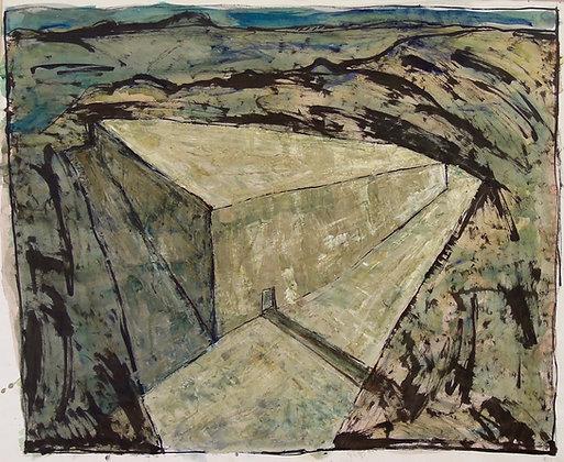 Monolith by MARK ELLIOT-RANKEN, Australian Landscape art, Art Forum, Art for homes and offices