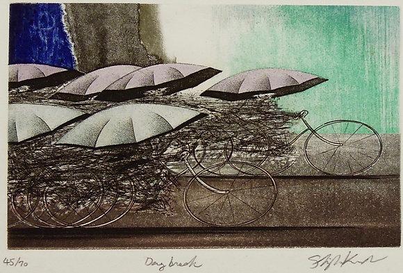 Day Break by KURODA SHIGEI, Japanese print, Japanese abstract art, Art Forum, Art for homes and offices