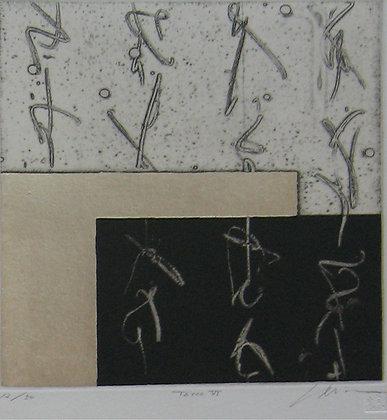 Tatoo Vl by NAKAZAWA SHINICHI, Art for homes and offices, Art Forum, Japanese print, Japanese abstract art