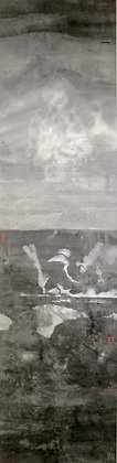 Floating Life by SHIFANG, Chinese ink brush on paper, asian art, Art Forum