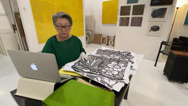 Art Forum year end sale : Ink Drawings