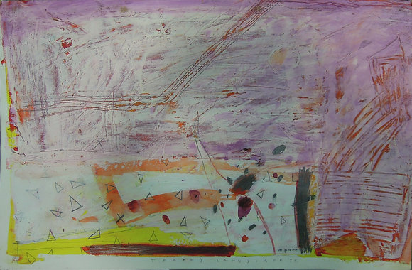 Trophy Landscape by MILENKO PRVACKI, Art Forum, Singapore abstract art, Art for homes and offices