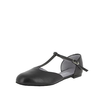 Chaussure danse femme - talon plat - Merlet