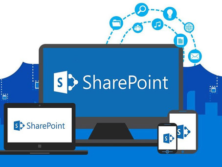 What do the icons on my Microsoft SharePoint mean?