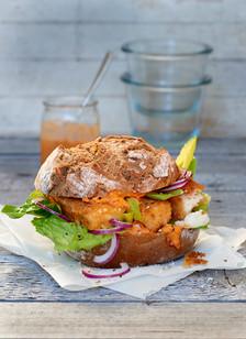 Fischstaebchen-Broetchen