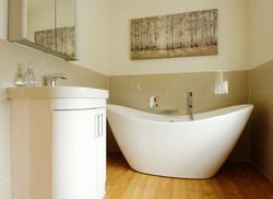 Relaxing New Bathroom