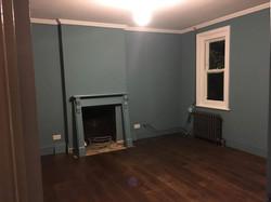 Work in progress - flooring laid