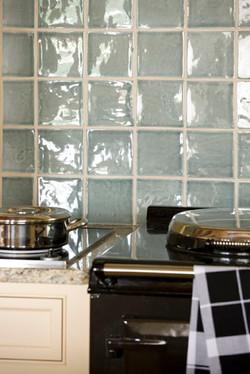 New Kitchen - Tiles & Aga